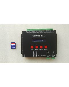 T-8000A programmable LED SPI digital with display master controller