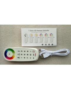 T3M RF wireless 2.4G synchronization RGB LED touch control remote