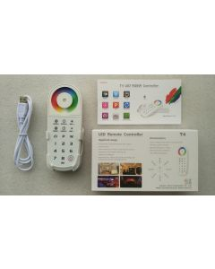 T4 LTech RGBW LED remote controller