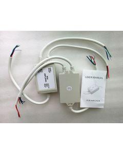 waterproof 12A RGB LED amplifier