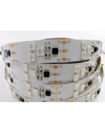 12V 5 meters 300 LEDs IP20 non-waterproof white FPCB programmable WS2811 RGB 5050 digital light strip
