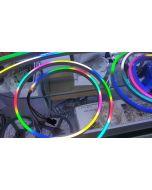 24V 20 meters 7x14mm 1200 LEDs WS2811 RGB 5050 LED neon light strip