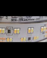 24V 5 meters 1120 LEDs color temperature adjustable 3014 dual white light strip