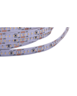 24V 5 meters 1200 LEDs IP20 non-waterproof SMD 2110 LED flexible warm white light strip