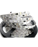 24V 5 meters 300 LEDs IP20 non-waterproof digital programmable GS8206 RGB 5050 LED strip