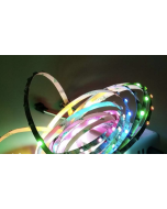 5V 1 meter 90 LEDs IP20 non-waterproof smart addressable SK6812 RGB 3535 LED strip, 5mm width FPCB