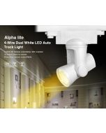 AL5 Mi Light alpha lite 25W 4-wire dual white LED auto rail track light