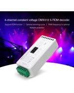 MiBoxer D4-CX 4 channels RGBW constant voltage DMX & RDM decoder