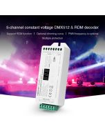 MiBoxer D5-CX 5 channels CV DMX & RDM decoder