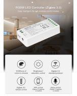 MiBoxer FUT038Z Zigbee 3.0 wireless remote RGBW 4 channels LED controller