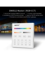 MiBoxer X5 MiLight DMX512 RDM master 5 channels panel controller