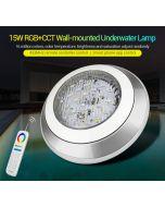 MiLight 15W IP68 UW01 MiBoxer wall-mounted RGB+CCT LED underwater light