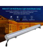 SYS-RL1 Mi Light futLight 24W RGB+CCT LED wall washer light subordinate lamp