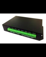 T-400K online programmable digital SPI master LED 6144 pixels controller
