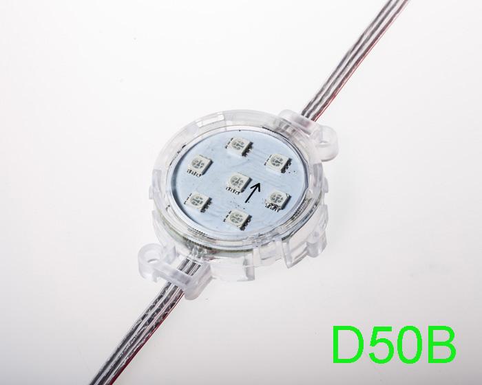 50mm 24V B type SM16703 RGB 5050 LED point light
