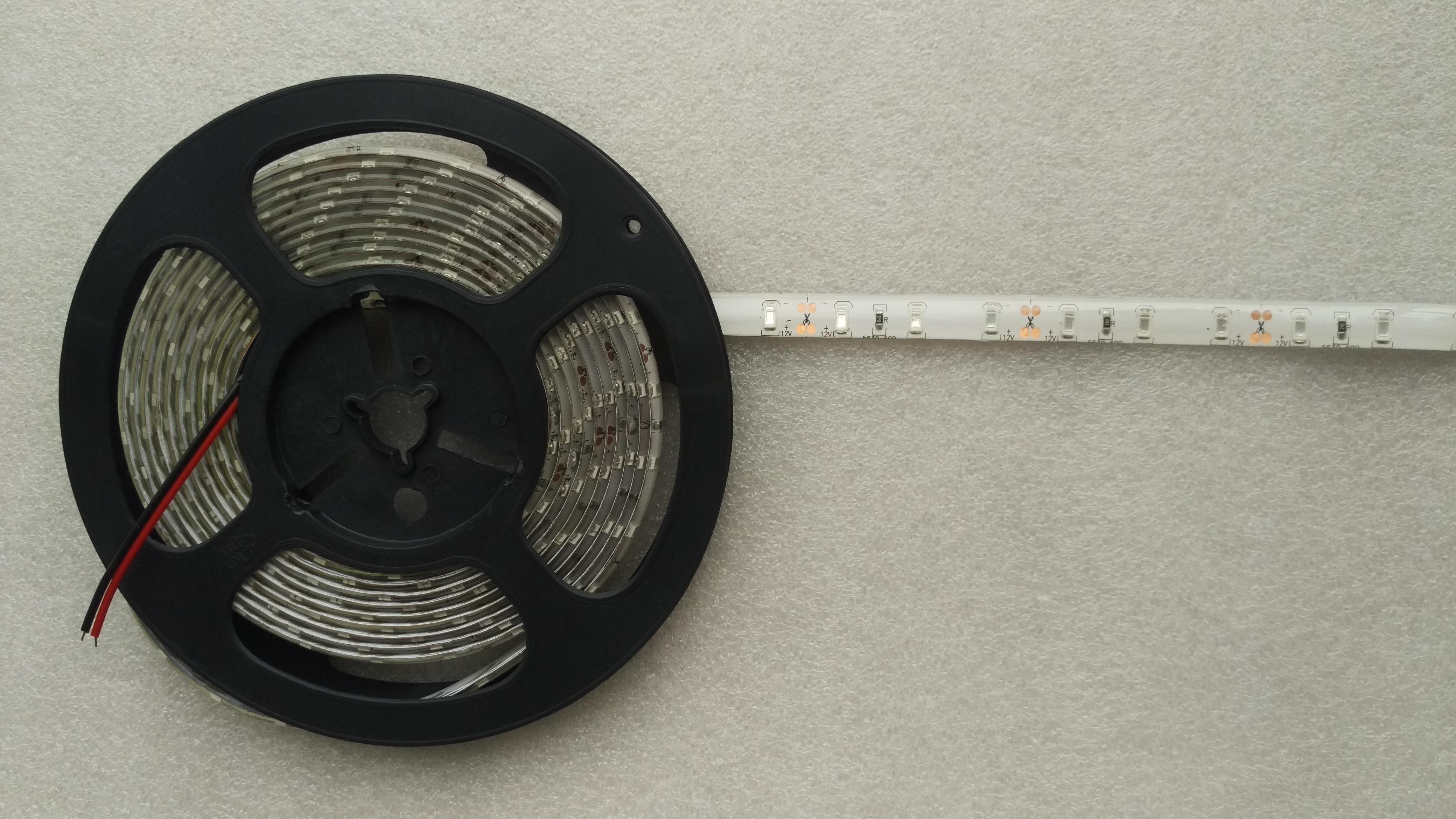 12V 5 meters 300 LEDs IP65 waterproof SMD 5630 5730 blue light LED strip